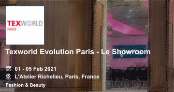 Texworld Evolution Paris - Le Showroom 2021