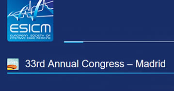 European Congress on Intensive Care Medicine 2020 – Madrid - España