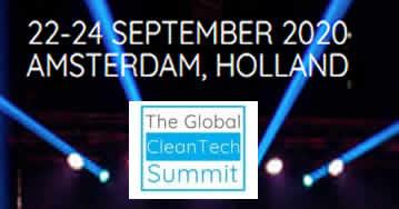 Global CleanTech Summit 2020 - Amsterdam - Netherlands
