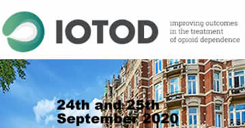 IOTOD 2020: Improving Outcomes In The Treatment Of Opioid Dependence - Amsterdam - Netherlands