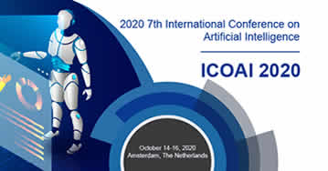 2020 7th International Conference On Artificial Intelligence ICOAI - Amsterdam - Netherlands