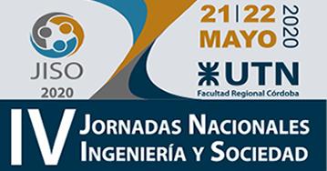 Jornadas Nacionales de Ingeniería y Sociedad