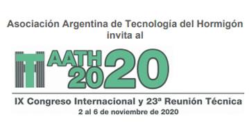 IX Congreso Internacional  y 23° Reunión Técnica - Tecnología del Hormigón