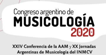 Congreso Argentino de Musicología 2020