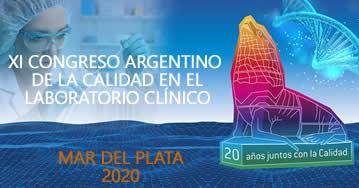 XI Congreso Argentino de la Calidad en el Laboratorio Clínico - CALILAB 2020