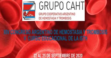 XIV Congreso Argentino de Hemostasia y Trombosis - CAHT