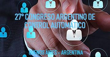 27° Congreso Argentino de Control Automatico - AADECA
