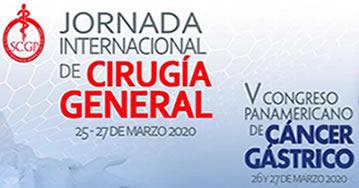 Jornada Internacional de Cirugía General - V Congreso Panamericano de Cáncer Gástrico