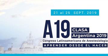 XXXV Congreso Latinoamericano de Anestesiología