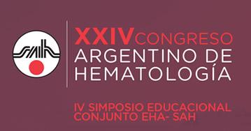 XXIV Congreso Argentino de Hematología Mendoza 2019