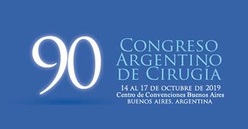 90° Congreso Argentino de Cirugía Buenos Aires 2019