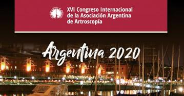 XVl Congreso Internacional de la Asociación Argentina de Artroscopía
