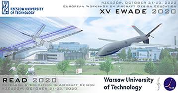EWADE 2020 - 15th European Workshop on Aircraft Design Education - Rzeszow - Poland