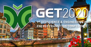 1st Geoscience & Engineering in Energy Transition Conference (GET) 2020 - Strasbourg - Francia