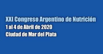 XXl Congreso Argentino de Nutrición